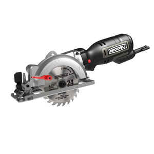 Rockwell  4-1/2 in. Corded  5 amps Compact Circular Saw  Bare Tool  3500 rpm