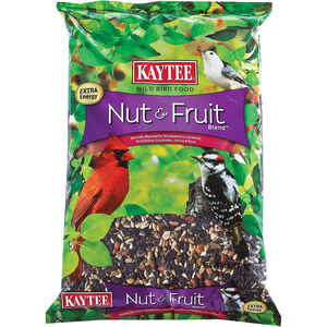 Kaytee  Nut & Fruit  Assorted Species  Wild Bird Food  Oil Sunflower  5 lb.