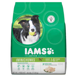 Iams  ProActive Health Mini Chunks  Chicken  Dry  Dog  Food  38.5