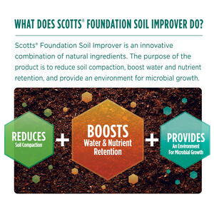 Scotts  Foundation  Soil Conditioner  5000 sq. ft. 14 lb.