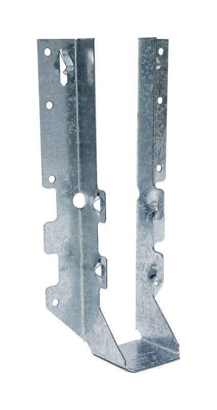 Simpson Strong-Tie  10 in. H x 2 in. W 18 Ga. Galvanized Steel  Joist Hanger