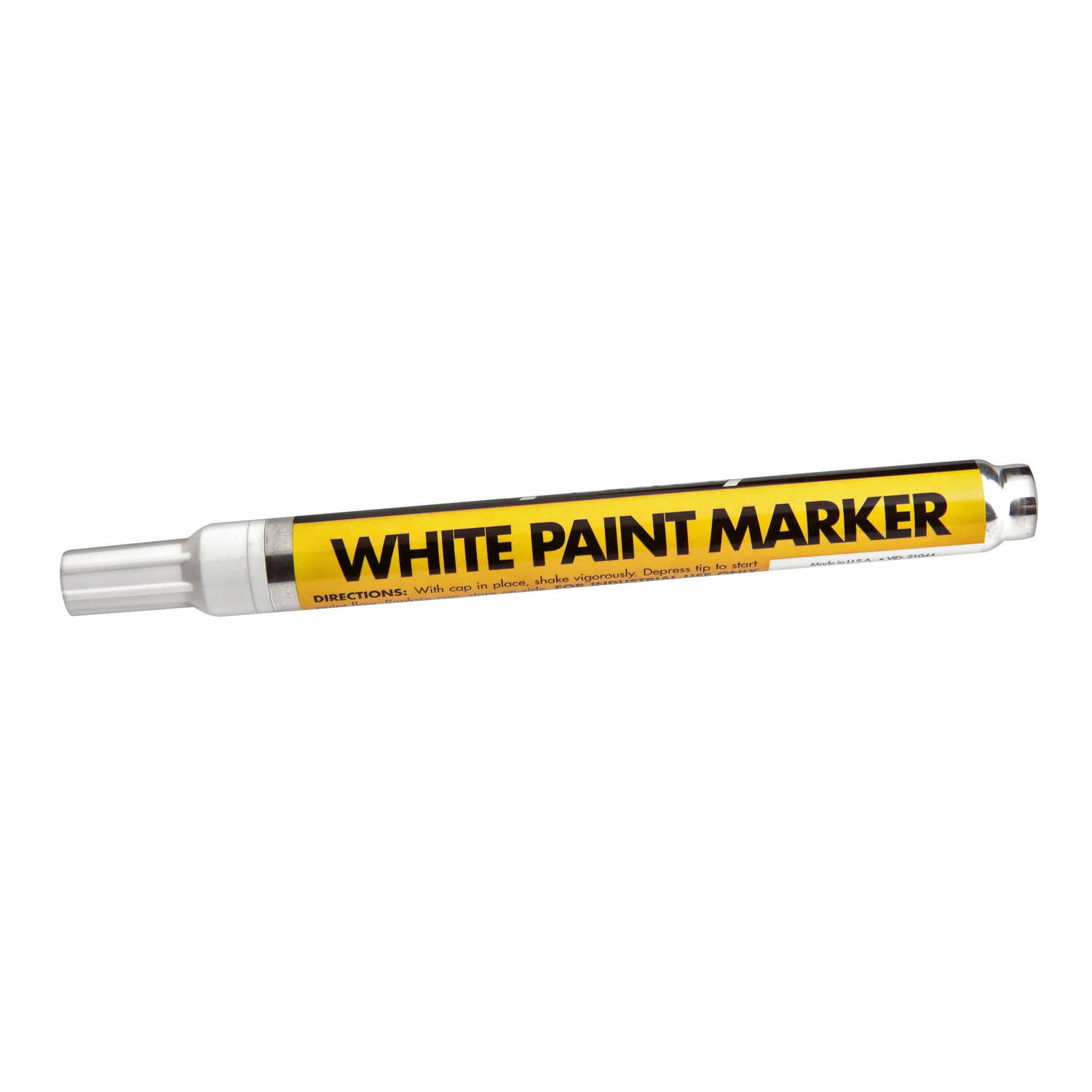 Forney Permanent Paint Marker     White