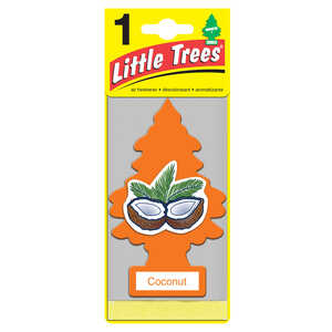 Little Trees  Coconut  Car Air Freshener  1 pk