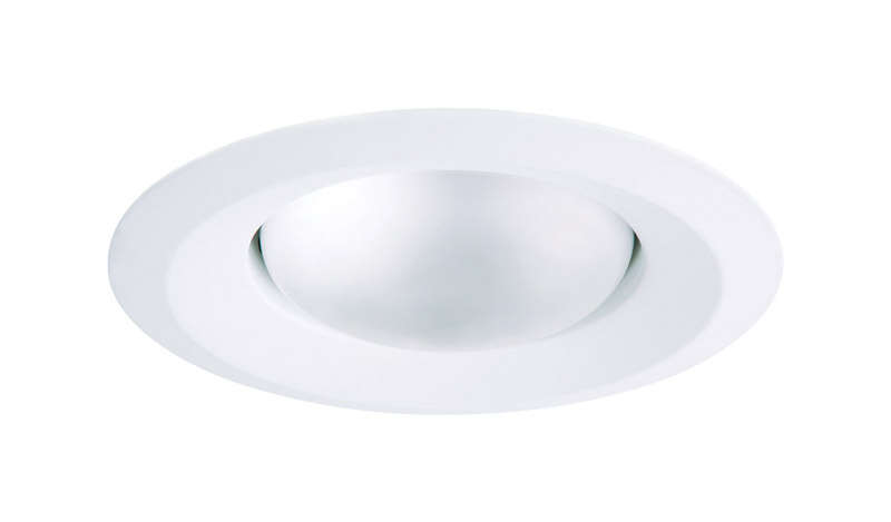 Halo  E-Series  Matte  White  Plastic  Self-Flanged Splay Trim  5 in. W