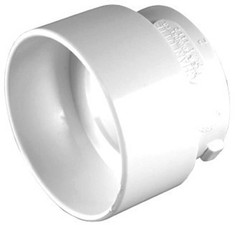 Charlotte Pipe  Schedule 30  3 in. Hub   x 1-1/2 in. Dia. Hub  PVC  Reducing Bushing