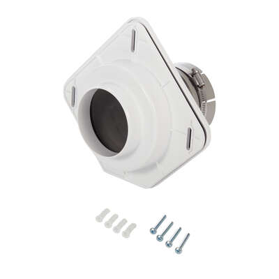 Dryer Vent Made Easy  8.25  L x 30 in. Dia. Dryer Vent Kit