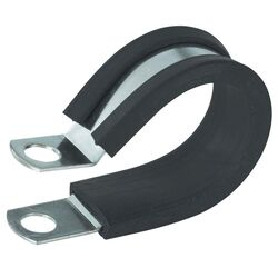 Gardner Bender 3/8 in. Dia. Steel Cable Clamp 2 pk