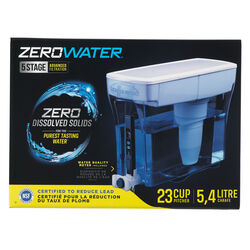 ZeroWater  184 oz. Blue  Dispenser