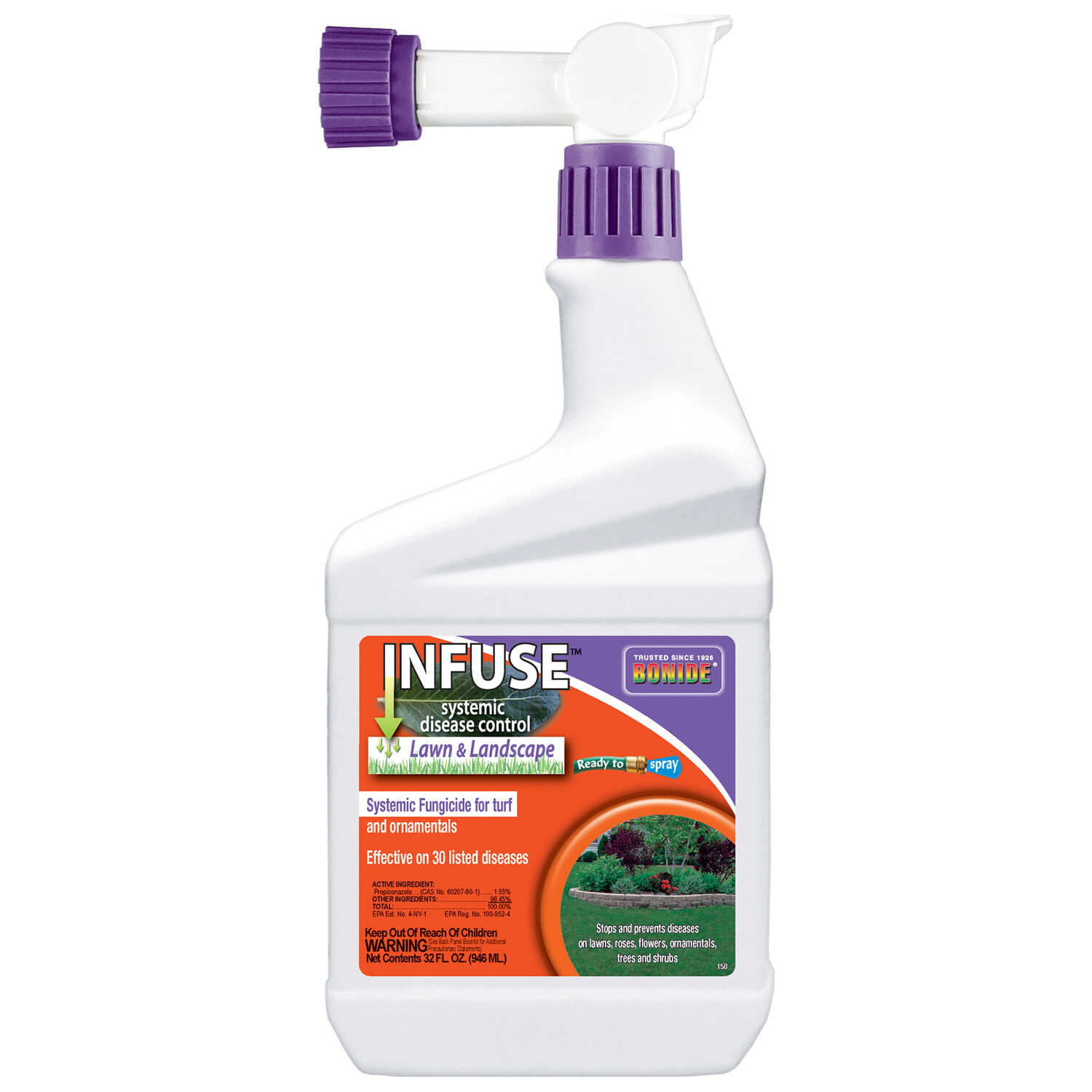 Bonide  Infuse  RTS Hose-End Concentrate  Moss Killer  1 qt.