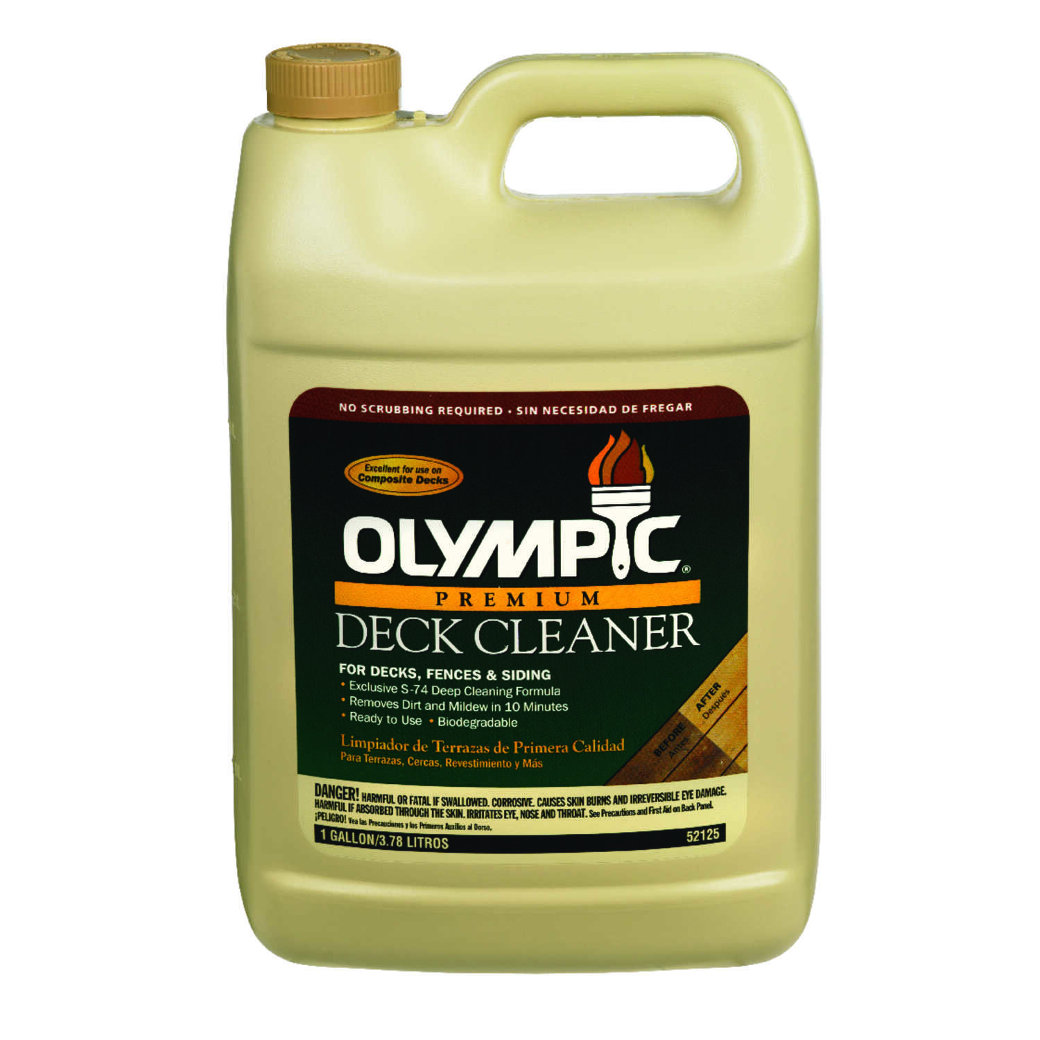 Olympic  Deck Cleaner  1 gal.