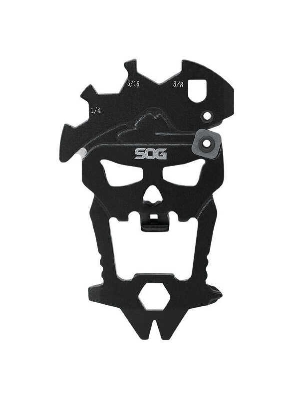 SOG  MacV Tool  Black  3CR13 Steel  6 in. Multi-Function Knife