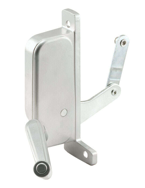 Prime-Line  Silver  Steel  Left  Awning  Window Operator  For A.B.C.