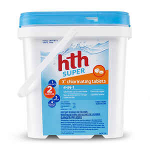 hth  Super  Chlorinating Chemicals  4.8 lb.