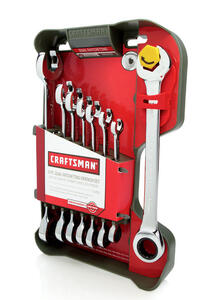 Craftsman  12 Point Metric  Wrench Set  8 pc.