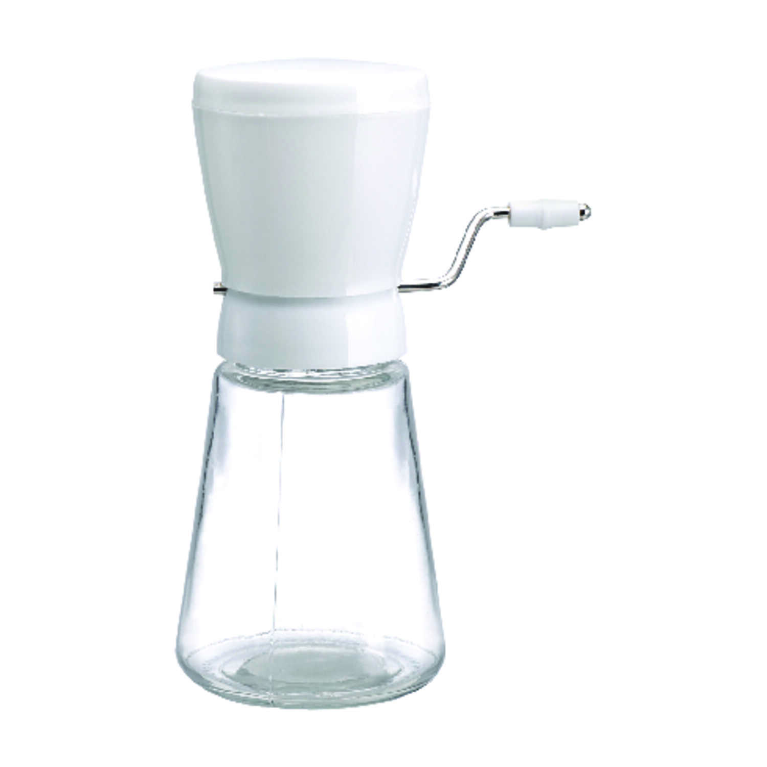 Lifetime  12 oz. Glass  White  Nut Mill