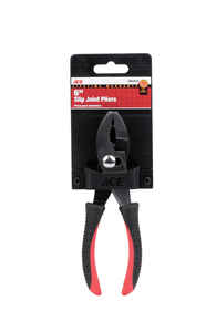 Ace  6 in. Alloy Steel  Slip Joint Pliers  Red  1 pk