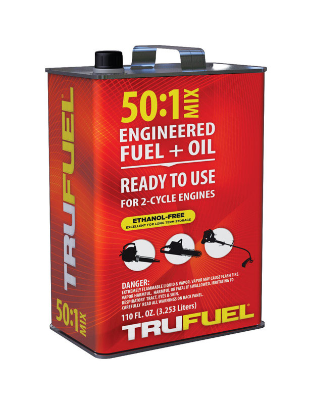 TruFuel  50:1  2 Cycle Engine  Premixed Gas and Oil  110 oz.