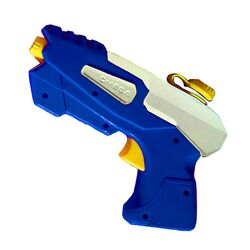Water Sports  Blue/White  Plastic  Omega  Water Gun