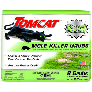 Tomcat  Bait  Grubs  For Moles 8 pk