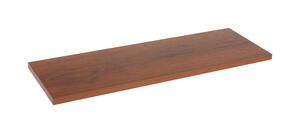 Knape & Vogt  8 in. H x 8 in. W x 48 in. D Walnut  Melatex Laminate/Particle Board  Shelf