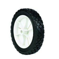 Arnold  1.5 in. W x 7 in. Dia. Plastic  Lawn Mower Replacement Wheel  35 lb.