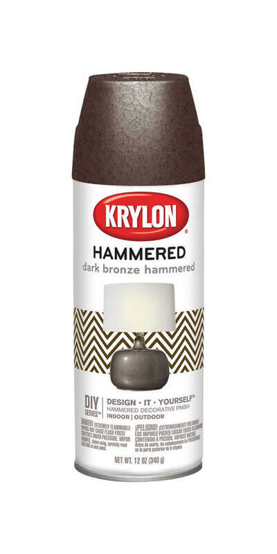 Krylon  Hammered  Dark Bronze  12 oz. Spray Paint