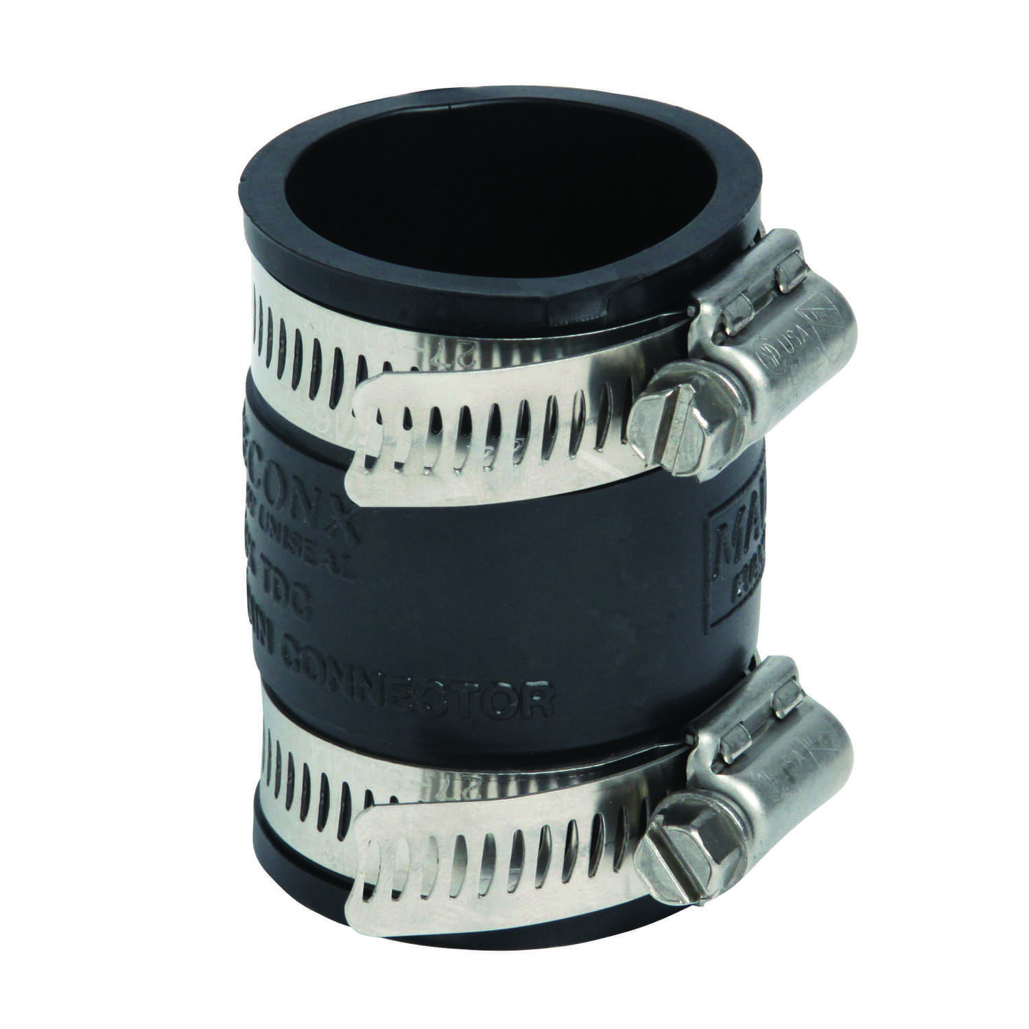 Pipeconx  1-1/2in. or 1-1/4 in. Dia. x 1-1/2in. or 1-1/4 in. Dia. Tubular Drain Connector