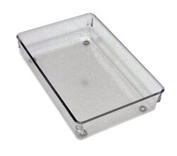 InterDesign  2 in. H x 6 in. W x 9 in. L Clear  Plastic  Drawer Organizer