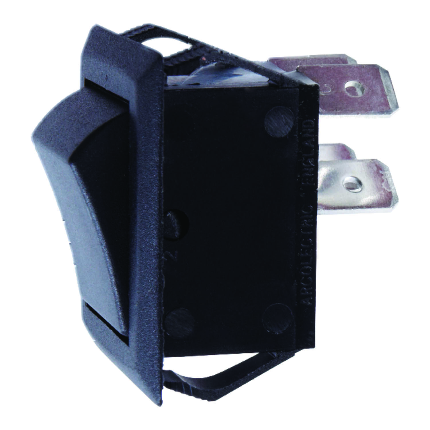 Jandorf  20 amps 1  Black  Rocker  Double Pole  Power Tool Switch