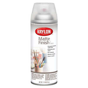 Krylon  Matte  Finish Spray Coating  Clear  11 oz.