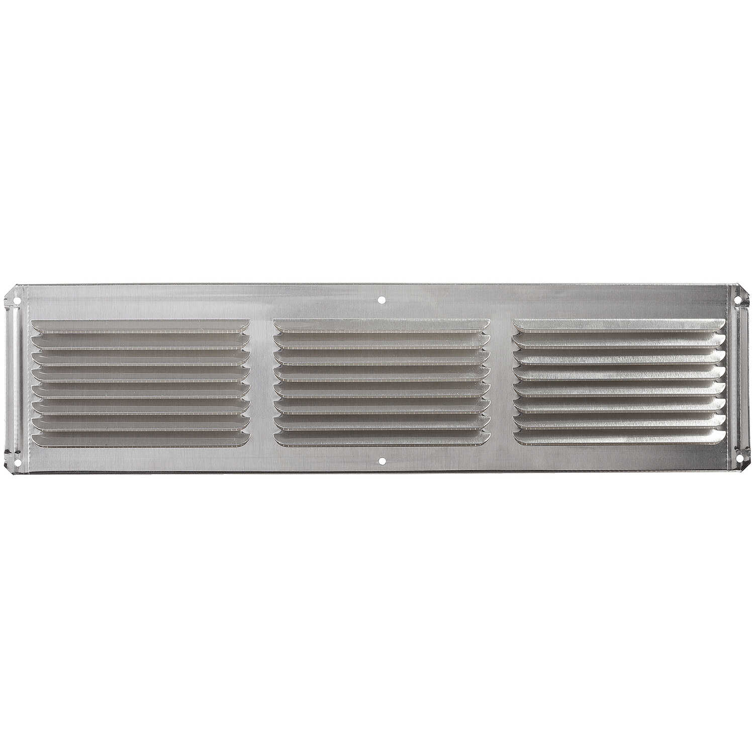 Master Flow  4 in. H x 16 in. W x 16 in. L Galvanized  Mill  Aluminum  Undereave Vent