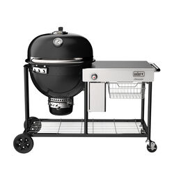 Weber 24 in. Summit S6 Charcoal Kamado Grill and Smoker Black