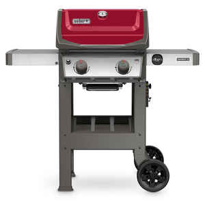 Weber  Spirit II E-210  2 burners Propane  Grill  Red  26500 BTU