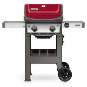 Weber  Spirit II E-210  2 burners Propane  Red  Grill  26500 BTU