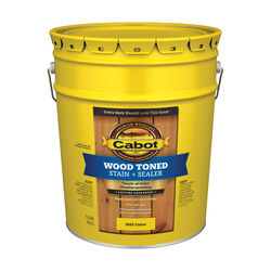 Cabot Transparent Cedar Tone Oil-Based Penetrating Oil Deck and Siding Stain 5 gal.