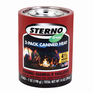 Sterno  Cooking Fuel  4.38 in. H x 3.38 in. W x 3.38 in. L 2 pk