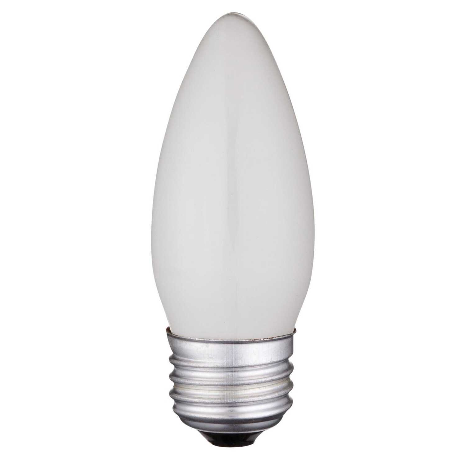 Westinghouse  40 watts B11  Incandescent Bulb  350 lumens Warm White  Decorative  2 pk