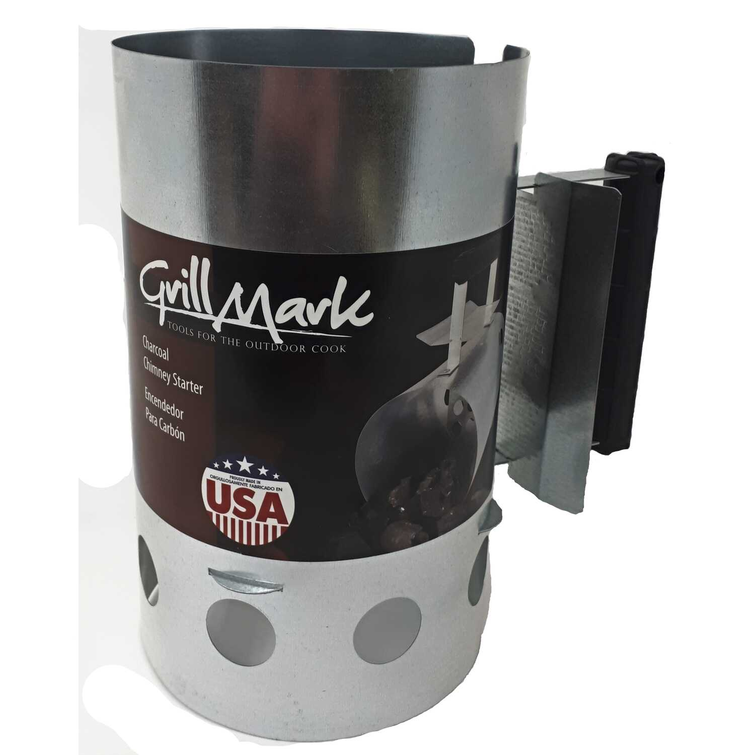 Grill Mark  Charcoal Chimney Starter  64 oz.