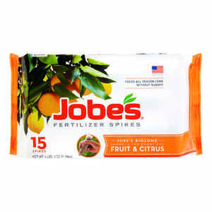 Jobe's  Fruit & Citrus  9-12-12  Fertilizer Spikes  15 pk