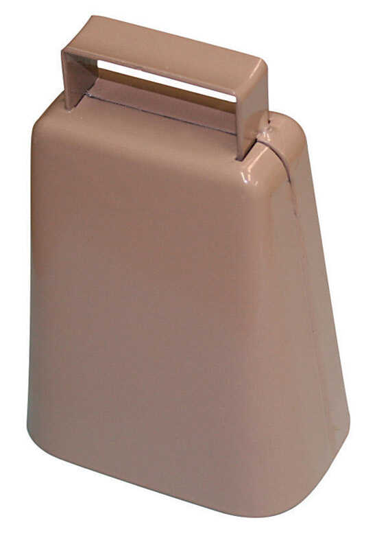 SpeeCo  Steel  4-1/4 in. H Cowbell