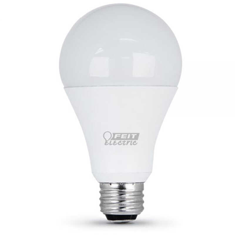 FEIT Electric  Performance  7/15/23 watts A21  LED Bulb  800/1600/2200 lumens Soft White  A-Line  1
