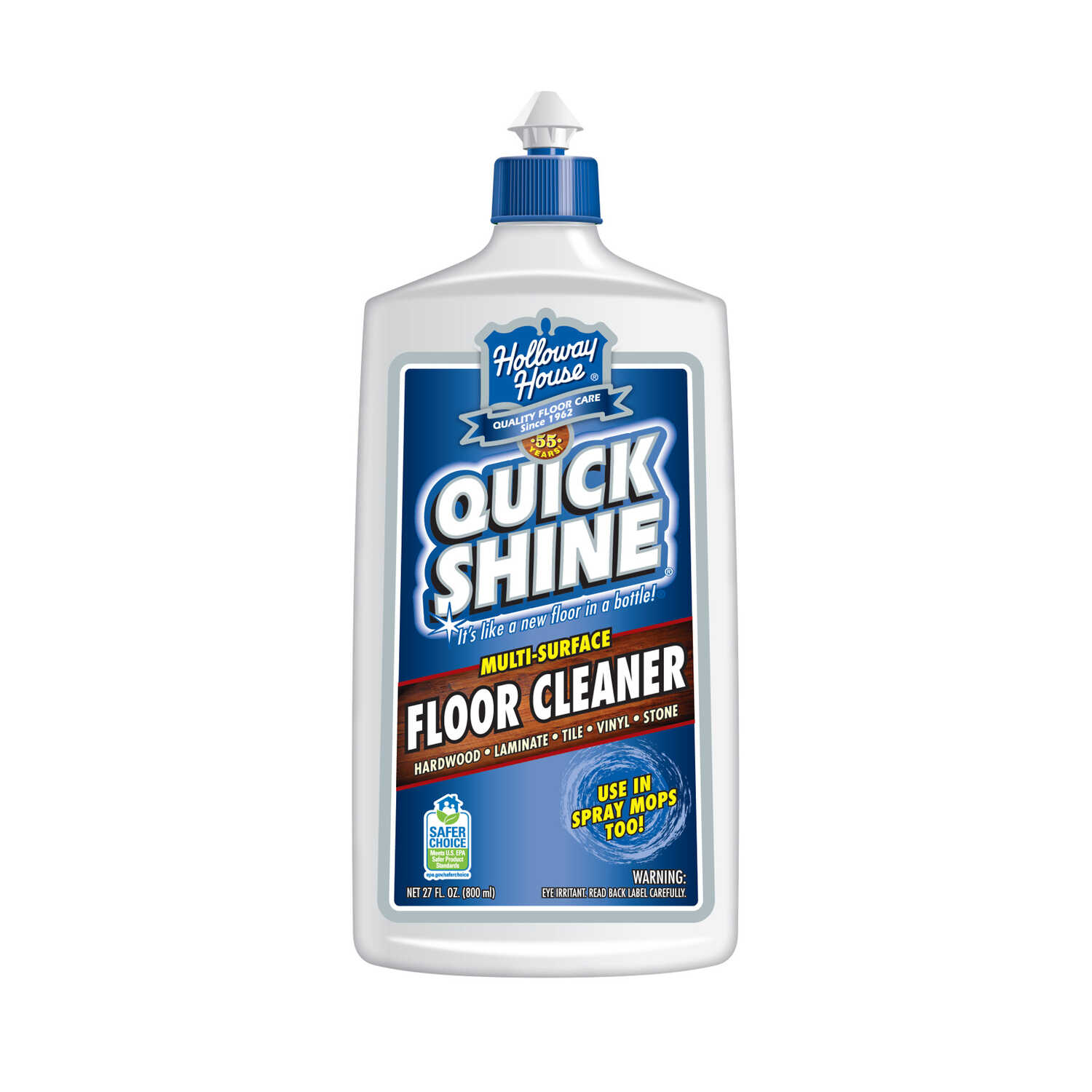 Holloway House  Quick Shine  Fresh Scent Floor Cleaner  27 oz. Liquid