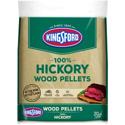 Kingsford  Hickory  Wood Pellet Fuel  20 lb.
