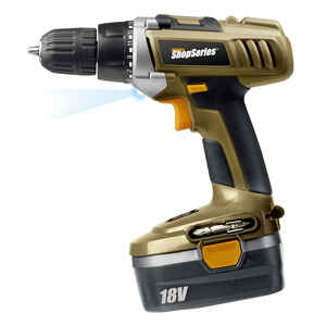 Rockwell  ShopSeries  18 volt Brushless  Cordless Drill/Driver  Kit  600 rpm 3/8 in.