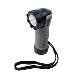 Dorcy  Pro Series  187 lumens Black/Gray  LED  Work Light  AAA Battery