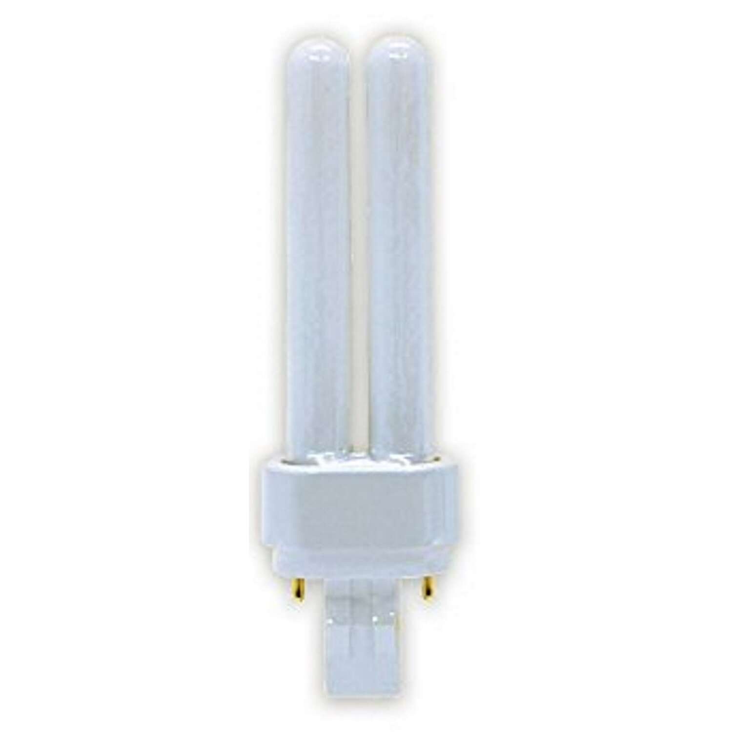 GE  Ecolux  13 watts T4  5 in. L CFL Bulb  Warm White  A-Line  2700 K 1 pk