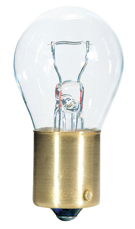 Westinghouse  12 watts S8  Incandescent Bulb  120 lumens White  Speciality  2 pk