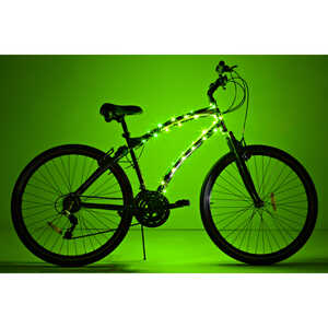 Brightz Ltd.  CosmicBrightz  LED Bicycle Light Kit  ABS Plastics/Electronics  1 pk