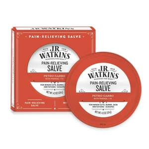 J.R.  Watkins  Petro-Carbo  Medicated First Aid Salve  4.37 oz.