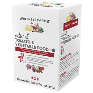 Whitney Farms  Natural  Organic Plant Food  1 lb.